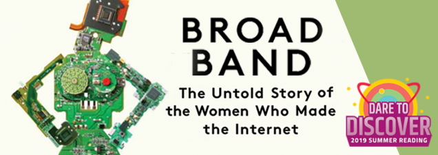 Writer Claire L. Evans, a contributor to Vice, The Guardian, and Wired and former editor of the multiplatform Motherboard, spotlights the unsung female visionaries who've helped write the story of the internet and related technology in a discussion of her book Broad Band: The Untold Story of the Women Who Made the Internet.