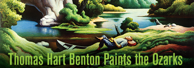 Steve Sitton, administrator of the Thomas Hart Benton Home & Studio State Historic Site in Kansas City, discusses the inspiration the artist took from his time and experiences in the Ozarks – noted in a 1971 Environmental Protection Agency film, A Man and a River, about a Benton float trip on the Buffalo River in Arkansas.