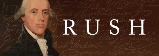 In a discussion of his new biography Rush: Revolution, Madness, and Benjamin Rush, the Visionary Doctor Who Became a Founding Father, award-winning journalist and historian Stephen Fried examines the famous physician and political progressive who was perhaps the most significant Founding Father you've never heard of.