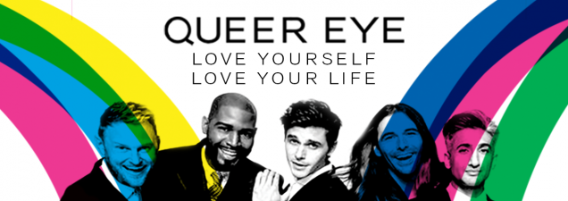 Near the end of four months of filming in Kansas City, the Fab Five stars of Netflix' infectious reality series Queer Eye sit down at the Central Library to discuss their newly released book Queer Eye: Love Yourself, Love Life and reflect on their experiences here.