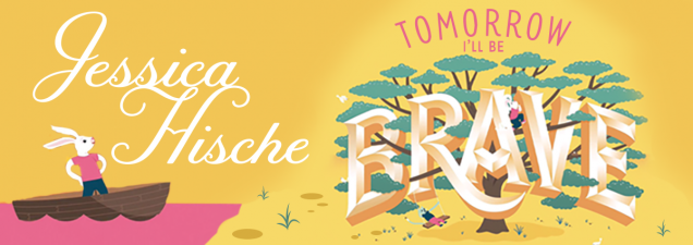 Nationally renowned lettering artist and illustrator Jessica Hische discusses her work and her newest dear-to-her-heart project: Tomorrow I'll Be Brave, a picture book that takes young readers through a world filled with positive, beautifully hand-lettered words of wisdom, inspiration, and motivation.