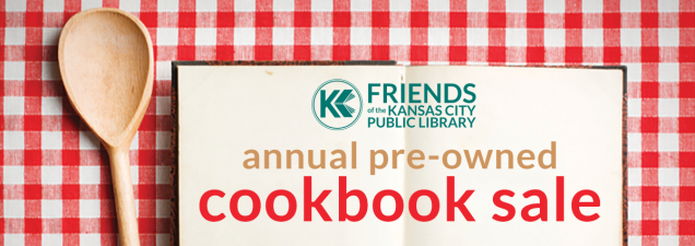 "Browse hundreds of vintage, nearly new, and collectible cookbooks at the Friends of the Kansas City Public Library's 13th Annual Pre-Owned Cookbook Sale. Most are priced under $3. ""Collectible"" and newer books are priced from $5 to $15."
